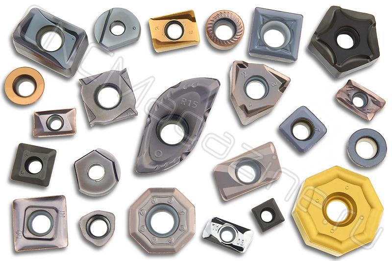 Сменные пластины для корпусных фрез по металлу