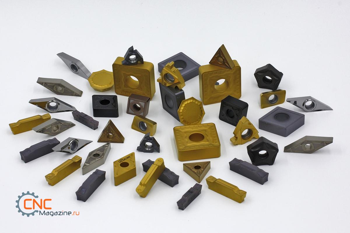 Купить сменные твердосплавные пластины для токарных и фрезерных станков, с ЧПУ