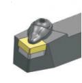 DSBNR2020K12 резец для наружного точения