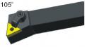MTQNR2020K16 резец для наружного точения CNCM Резцы со сменными пластинами