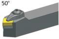 DCMNN2525M12 резец для наружного точения CNCM Резцы со сменными пластинами
