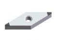 VCGW160404LS-2 IBCH015P пластина для точения с двумя напайками PCBN