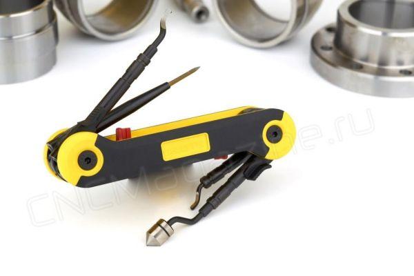 RG1000GT PocketBurr – Универсальный складной инструмент для снятия заусенцев