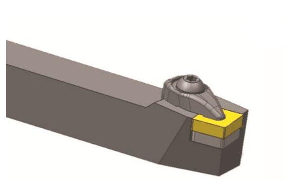 DCBNL2525M12 резец для наружного точения