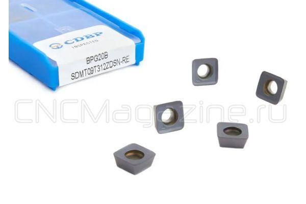 SDMT09T312ZDSN-RE BPG20B пластина для фрез
