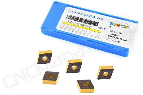 CNMG120412-RA BPS371 пластина для точения