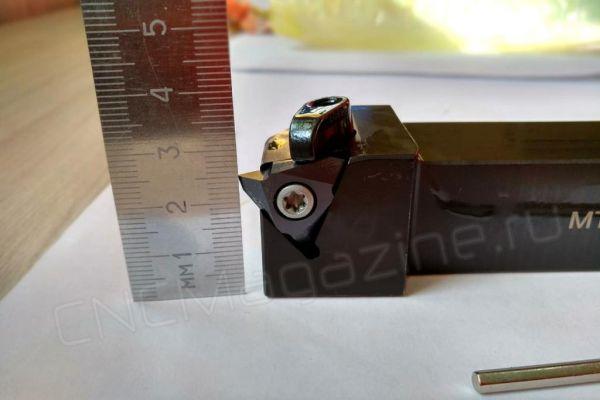 MTTR 436003 DM215 пластина резьбовая твердосплавная, неполный профиль 60°