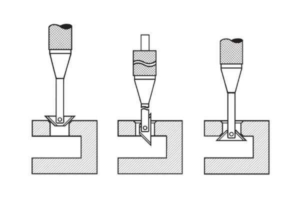 RC2200GT Реверсная зенковка для снятия заусенцев с обеих сторон отверстий (10-22мм)