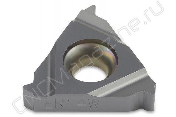16ER14W DM215 пластина резьбовая твердосплавная, трубная резьба Whitworth 55°
