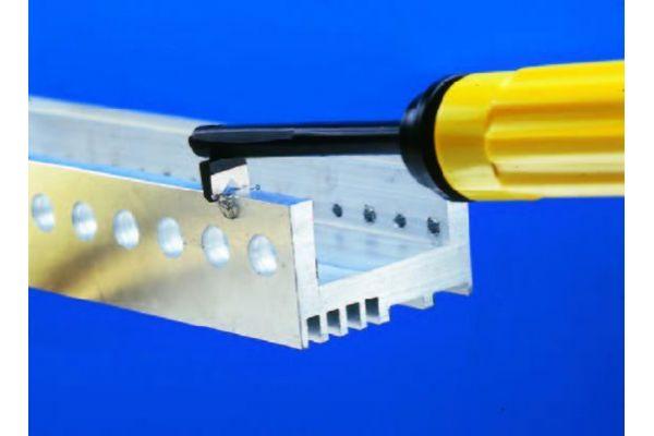 """EL1703GT Инструмент для снятия заусенцев с кромкок листа шириной 1-8 мм GT """"V"""" GRATTEC"""