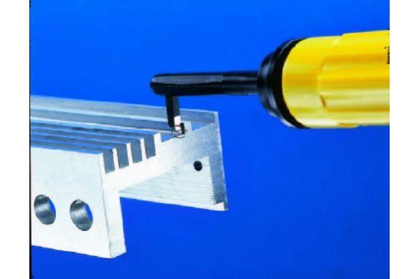 """EL1705GT Инструмент для зачистки углов в узких пазах шириной до 4 мм GT """"C"""" GRATTEC"""