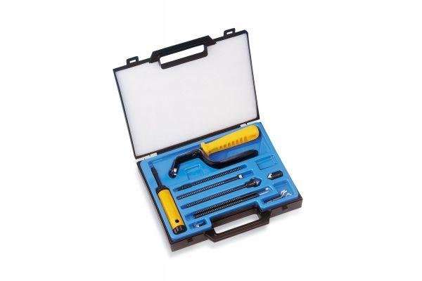 EL2000GT Универсальный набор для снятия заусенцев, фаски, шабрения, зенкования GRAT-TEC 7 UP GRATTEC