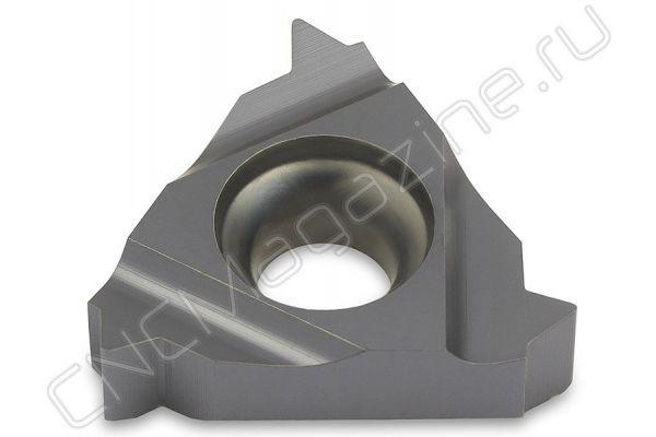 16NR2.50ISO DM215 пластина резьбовая твердосплавная, метрическая резьба полный профиль 60°