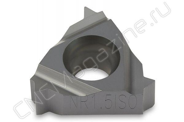 11NR1.50ISO DM215 пластина резьбовая твердосплавная, метрическая резьба полный профиль 60°